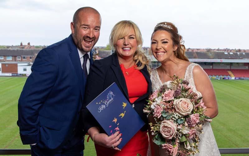 Testimonial Kelly Garrick Celebrants